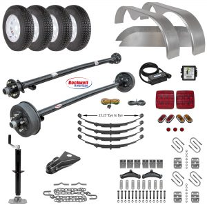 Tandem Axle Trailer Parts Kit