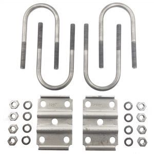 "Rockwell American's U-Bolt Kit For 3"" Round Axles - Fits 2"" Wide Springs-lbl004"