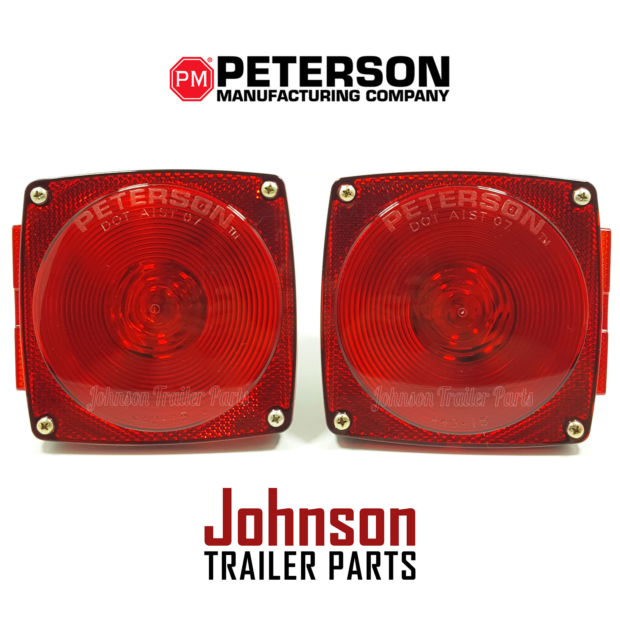 Pair of peterson tail lights pm 440 440l stop turn tail lights asfbconference2016 Image collections