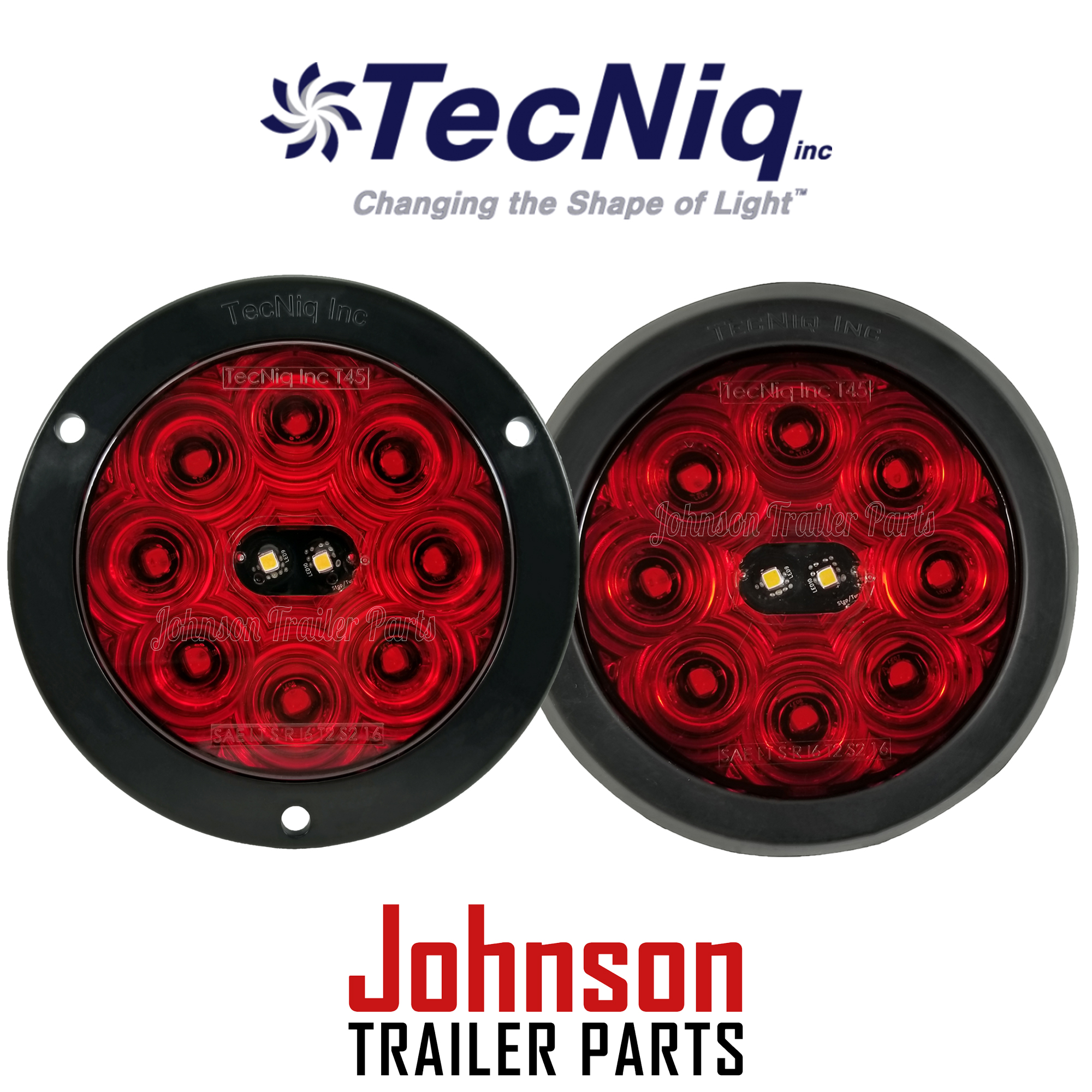 Led Tail Lights 4 Quot Round Hi Visibility Stop Turn Tail