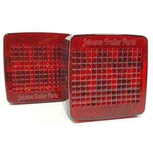 4″ Submersible LED Box Tail Lights