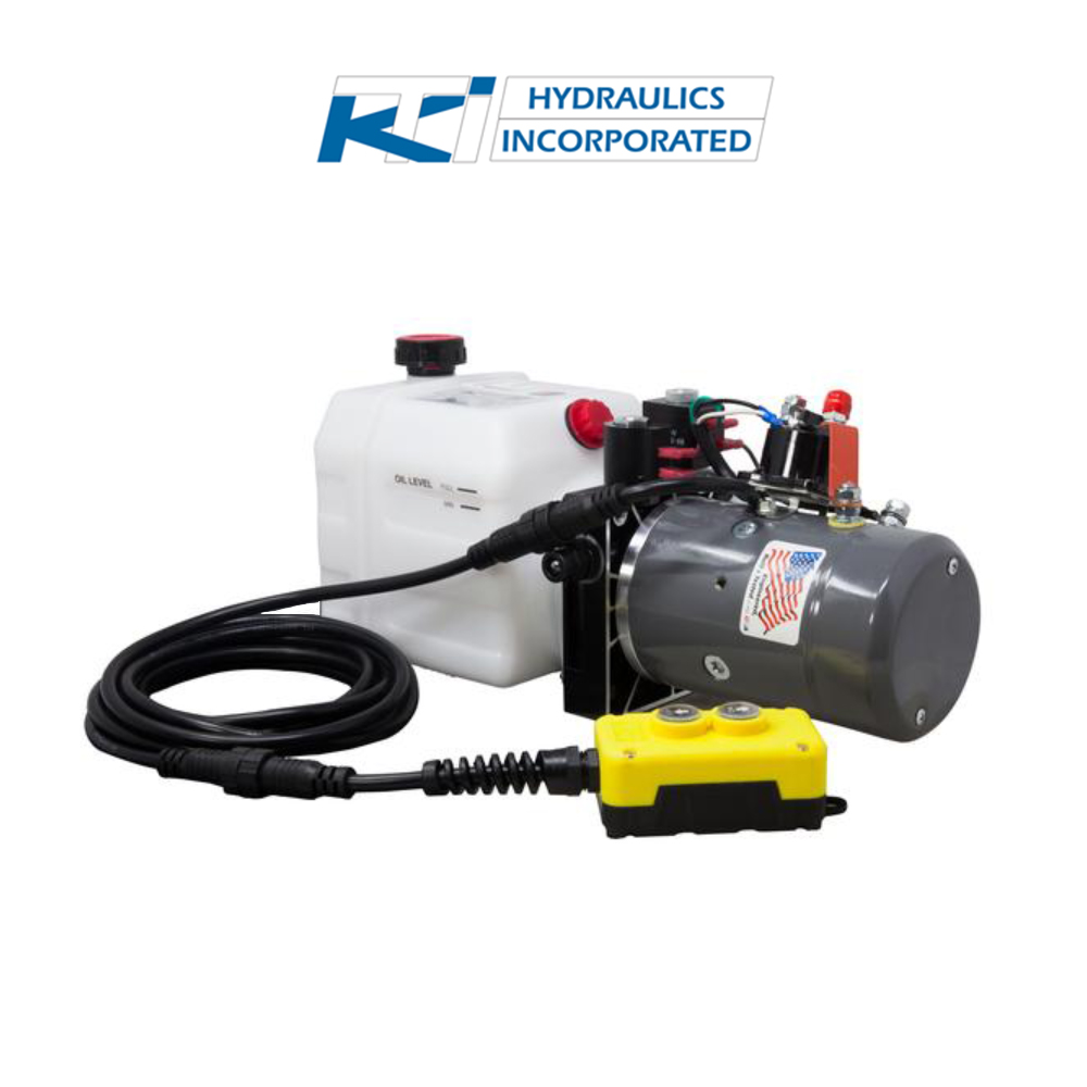 Quart V KTI Double Acting Hydraulic Pump DC - Kti hydraulic pump wiring diagram