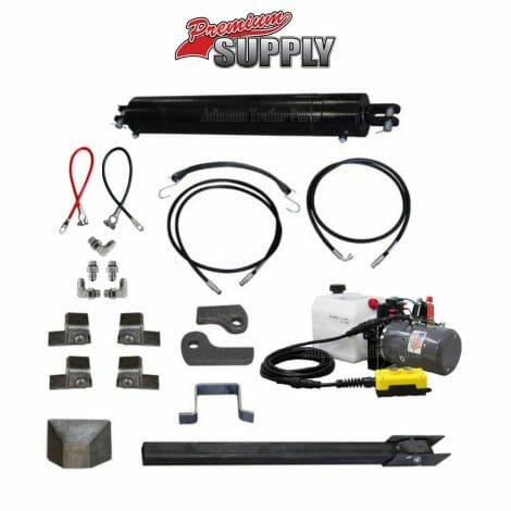 Dump Trailer Hydraulic Cylinder Direct Push Kit - PCK 530
