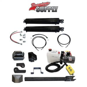 Dump Trailer Hydraulic Cylinder Direct Push Kit - PCK 3530-2DP