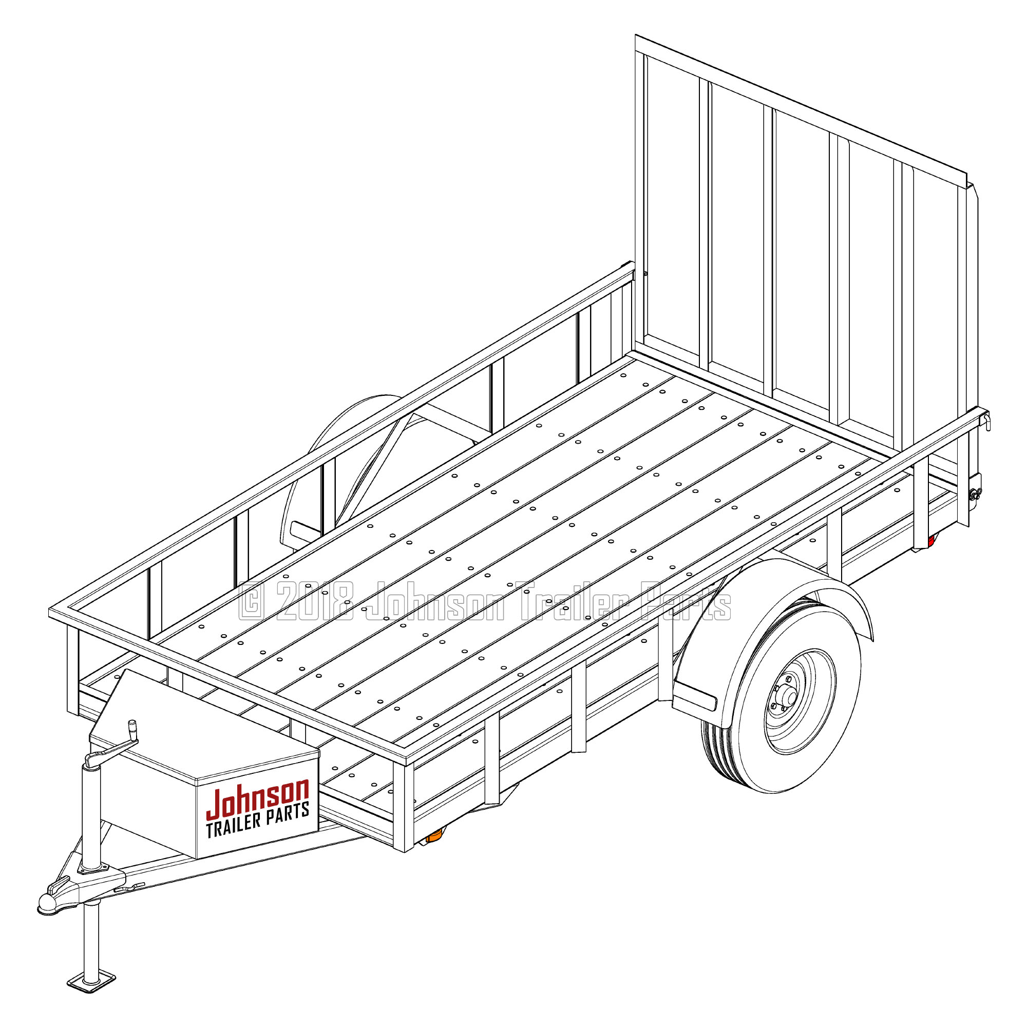 Downloadable Pdf Engineered Trailer Plans Blueprints Step By Wiring Diagrams For Trailers Tilt Car Hauler Instructions