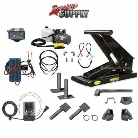 8 Ton Hydraulic Scissor Hoist Kit | PH621-5