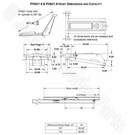 Hydraulic Scissor Hoist Kit | Model PH621-5