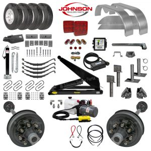 14k-S Dump Trailer Parts Kit - PH520 Hoist