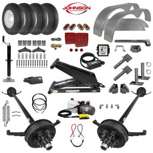 10.4K Dump Trailer Parts Kit - PH416 Hoist