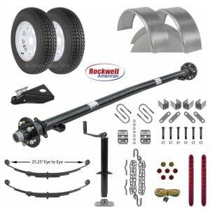 Utility Trailer Parts Kit - 3.5k - Model U60-96-35J