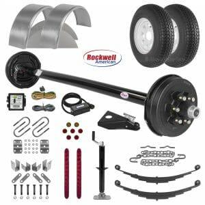 "6' 10"" Utility Trailer Parts Kit - 5.2k - Model U82-144-52J"