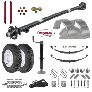 6ft Utility Trailer Parts Kit - 3.5k - Model U72-120-35J