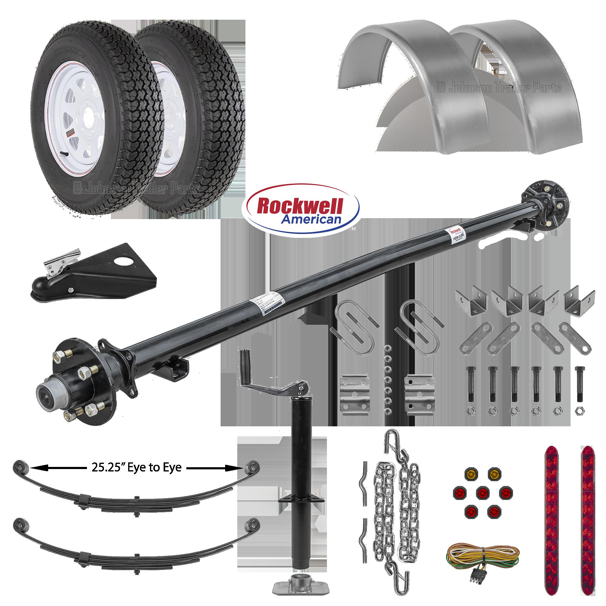 Hydraulic Scissor Hoist Kits Trailer Axles Trailer Parts Kits More